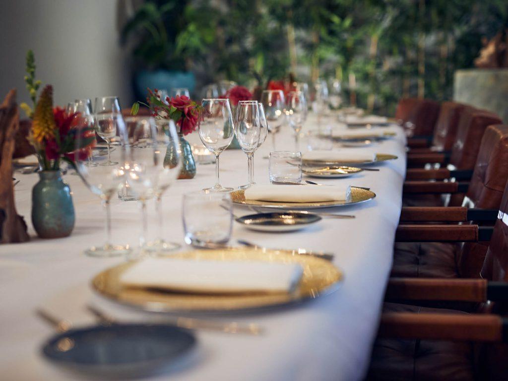 Onze Poterne kamer van het Poterne restaurant is ook bijzonder geschikt voor private dining.