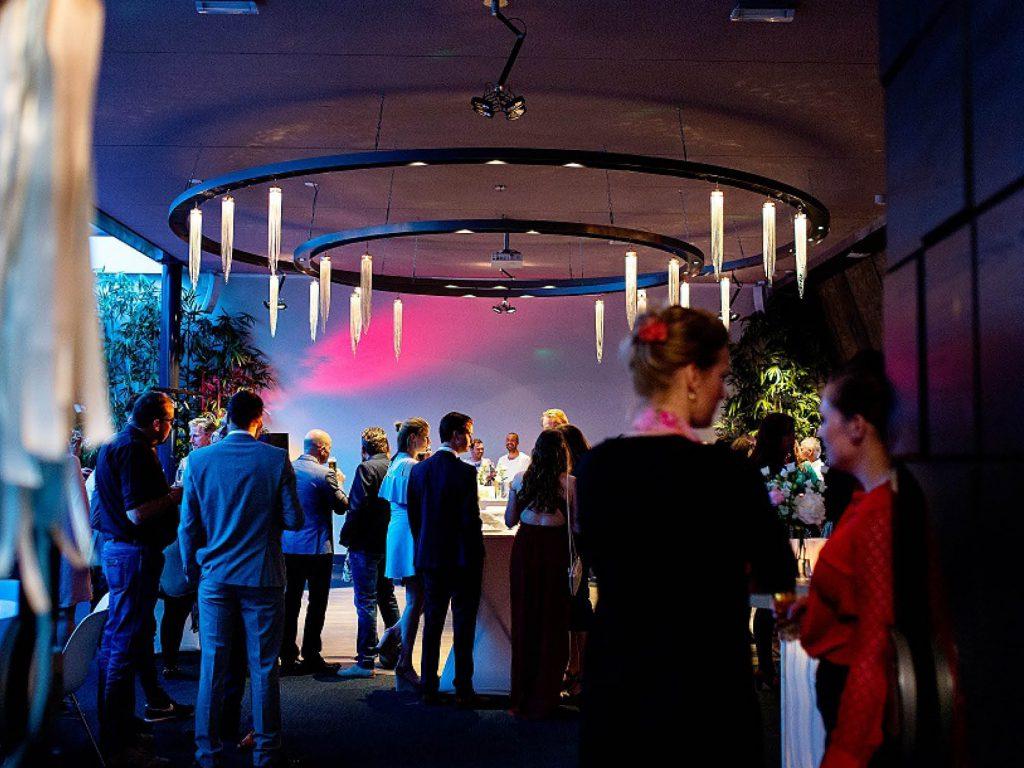 Een bedrijfsfeest bij Fort Resort Beemster in de Fort zaal, vlakbij Amsterdam.