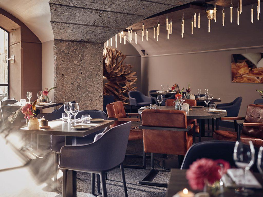Het Poterne restaurant van Fort Resort Beemster een feestje voor zowel lunch als diner.